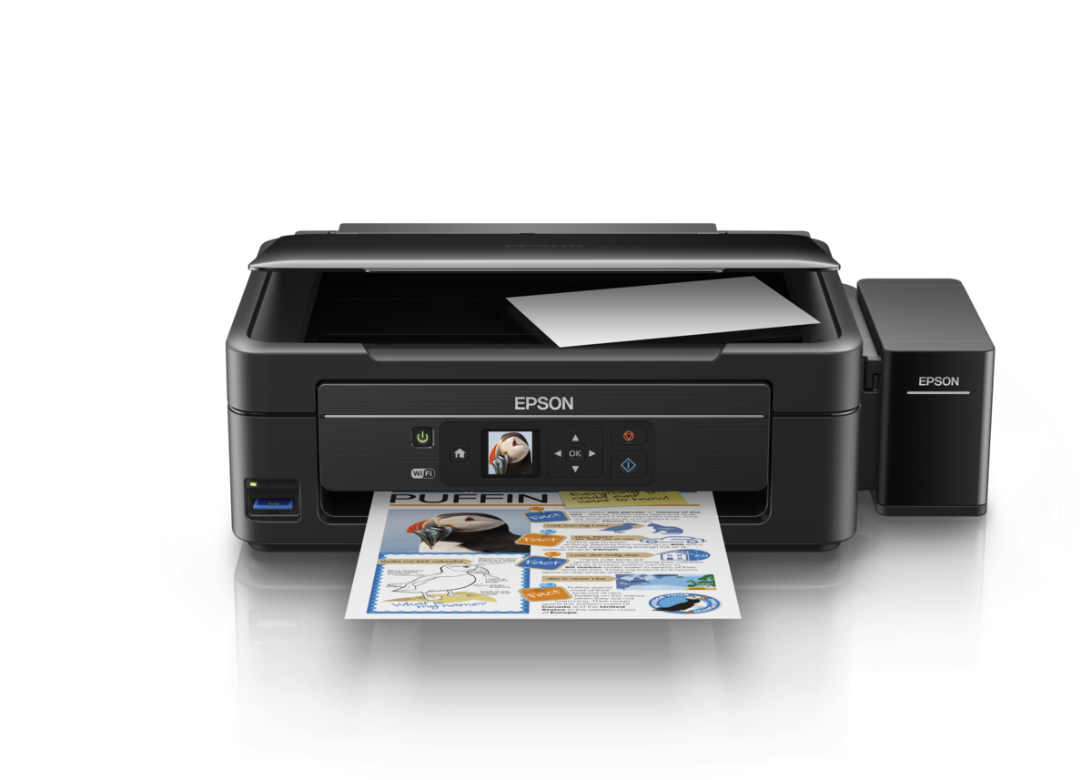 Epson L485 Wi-Fi All In One Ink Tank Printer